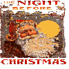 3d page flipping eBook! Vintage illustrated Night Before Christmas